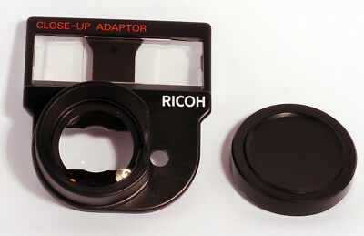 Vintage Ricoh Close-Up Adaptor CL-9 Camera Lens Adaptor with Case and Cap