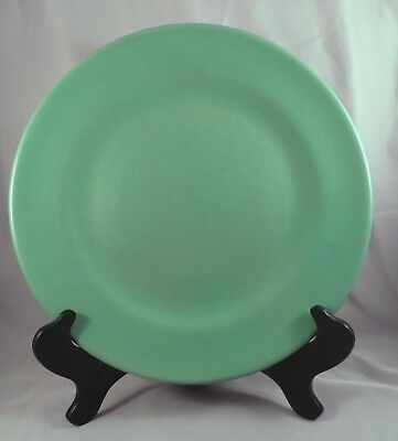 Art Deco Catalina Island California CA Art Pottery Descanso Green Plate Charger