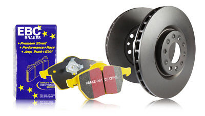 EBC Rear Brake Discs & Yellowstuff Pads VW Passat 2.0 Turbo (200 HP) (2005 > 10)