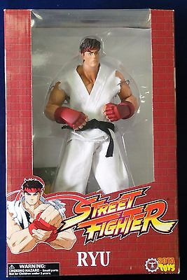 Sota Toys Street Fighter Ryu Limited Edition #3288 of 7500 New Sealed Rotocast