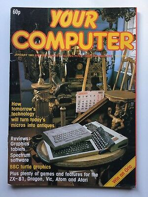 Vintage Your Computer Magazine | January 1983 Volume 3 No.1