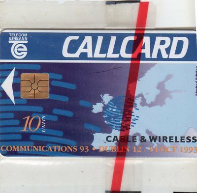Cable & Wireless Communications 93 Callcard IRELAND (sealed)