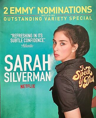 SARAH SILVERMAN A SPECK OF DUST Emmy Consideration advertisement Netflix ad FYC