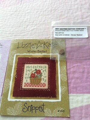 3 Lizzie Kate Patterns 2 with buttons