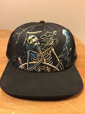 Ballast Point Brewery Craft Beer Trucker Mesh Baseball Pirate Skull Hat