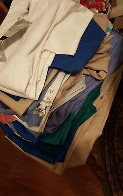 HUGE Lot of Scrubs Size small and x small  forty Total Pieces! All NWT