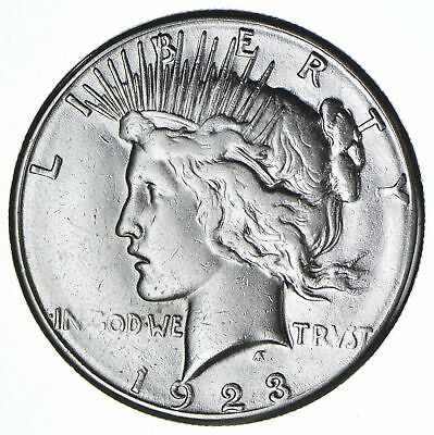 1923-S Peace Silver Dollar - San Francisco Minted - 90% Silver *324