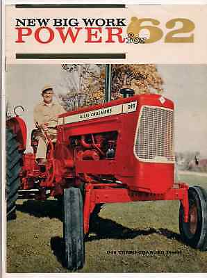 We are selling  rare Allis Chalmers colored Brochures this is Model D19 Model