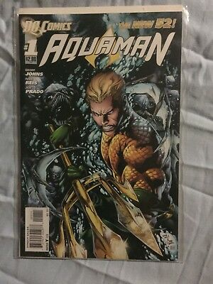 AQUAMAN #1 DC New 52 Comics Near Mint NM Geoff Johns