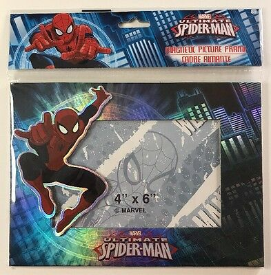 Marvel Spider-Man Magnetic Picture Frame  4 X 6 NEW