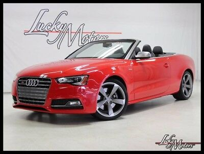 2014 Audi S5 Premium Plus Convertible 2-Door 2014 Audi S5 Premium Plus 1 Owner Florida Conv. Bang & Olufsen Keyless Start