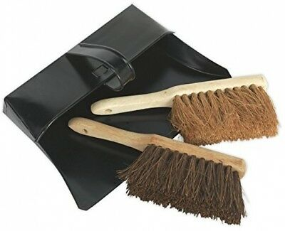 Sealey BM26 Dustpan And Brushes Metal