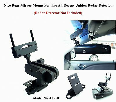 Nice Car Mount For The Rare Mirror good for the Uniden Radar Detector New Models
