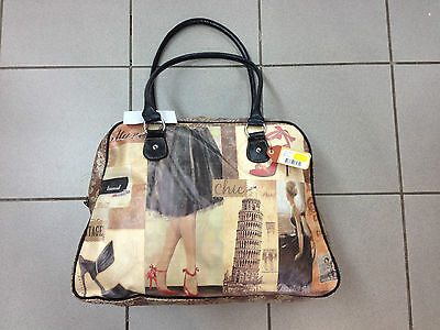 City Girl - Cabin / Overnight Bag - Italy - Brand New With Tags Rrp$64.95