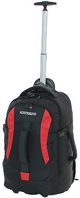 KOSCIUSZKO BACK PACK ON WHEELS - CARRY ON 52cm - RRP$169