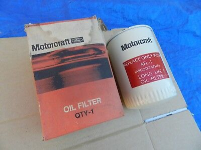 Nos Genuine Motorcraft Afl 1 Oil Filter/suits Gt Gs Coupe Sedan/ Never Fitted.