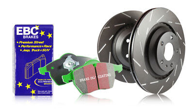 EBC Rear Ultimax Brake Discs & Greenstuff Pads Opel Astra GTC J 1.8 140HP 11>13
