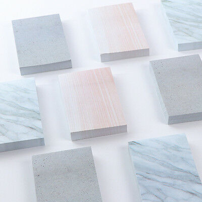 4pcs Natural native stone paper texture to facilitate the preparation sticker