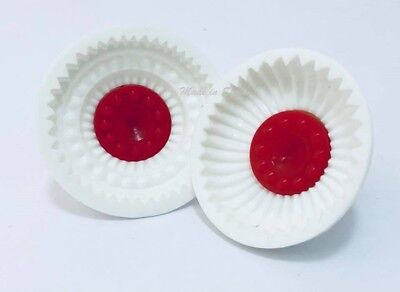 #Wx Set Of 2 Pistachio and Dates Maamoul Plastic Mould 2 Different Designs معمول