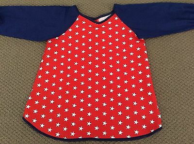 Stars Art Smock Handmade & Gorgeous AGE 4-7 Perfect For School Or Home