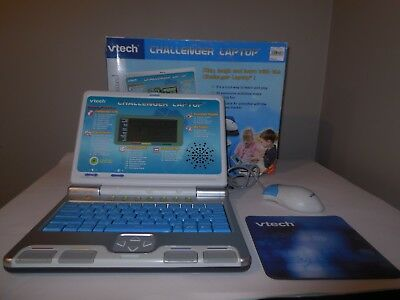 Vtech Challenger Laptop-Electronic Learning Computer, Ec. Hardly Used