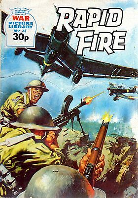 RAPID FIRE No 41 1985 40037  War Picture Library