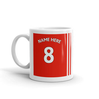 Football mug personalised Coffee Cup Birthday Gift Christmas Gift Football Gift
