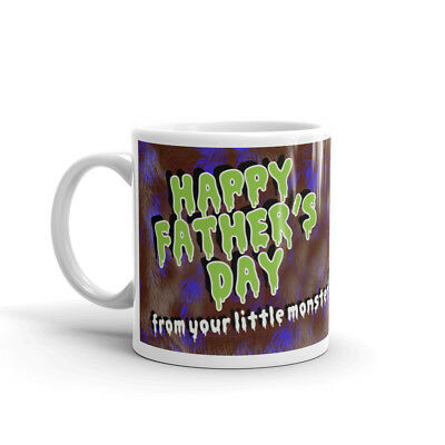 Little Monster photo mug personalised Coffee Cup Fathers Day Birthday Gift