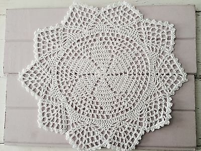 30 Cm New White Crochet Lace Doily
