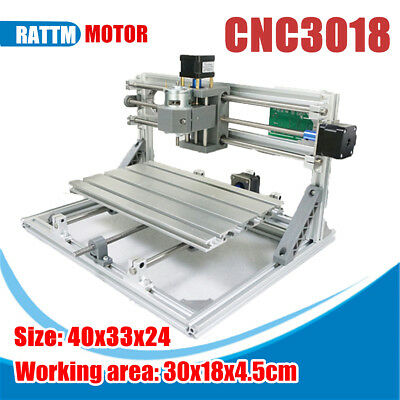 CNC 3018 DIY 3 Axis Wood Engraving Carving PCB Milling Machine Router Engraver