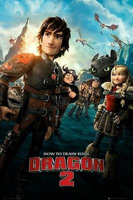 How to Train Your Dragon 2 : One Sheet - Maxi Poster 61cmx91.5cm new and sealed