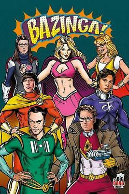 Big Bang Theory : Superheroes - Maxi Poster 61cm x 91.5cm new and sealed