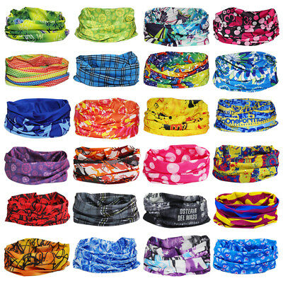 Unisex Multi Magic Head Face Mask Tube Snood Bandana Neck Sport Scarf Headscarf