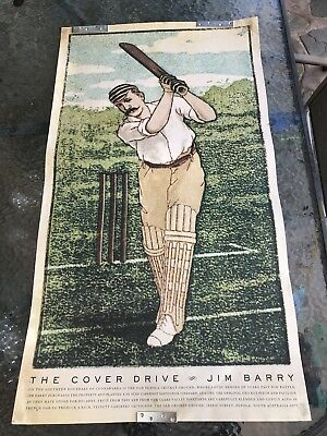 Jim Barry 'The Cover Drive' Poster