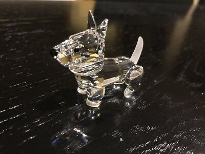 Swarovski Crystal Dog Figurine