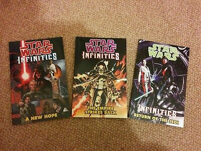 Three Star Wars Infinities Graphic Novels / Trade Paperbacks
