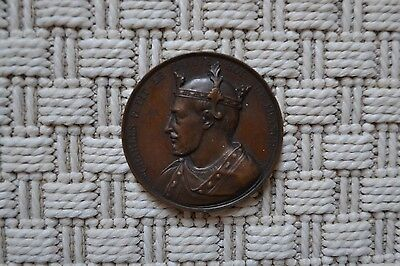 Rare Medal Copper - Charles II le Bald King French - Galerie Coin