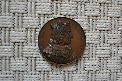 Rare Medal Copper - Philippe VI King French - Galerie Coin - Keg