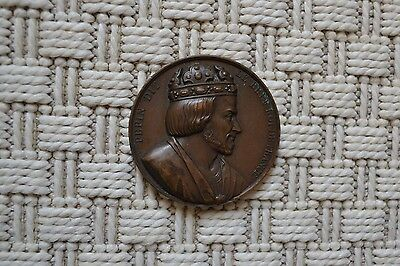 Rare Medal Copper - Grapeseed le Brief King French - Galerie Coin