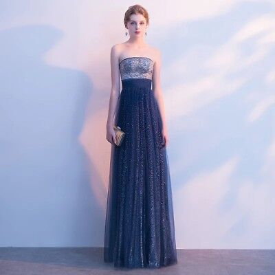 OCC19 Designer Inspired Formal Evening Party Prom Gown Sequinned Long Maxi Dress