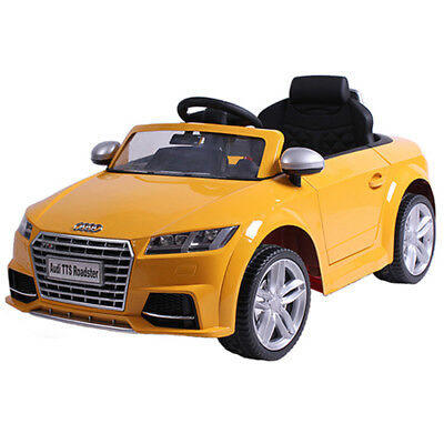 Audi TT S ROADSTER CABRIOLET CHILDREN´s Car Children Vehicle Electric Yellow
