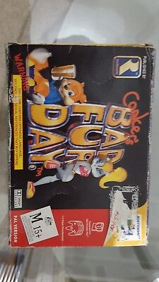 Conker's Bad Fur Day N64 PAL AUS( Price Dropped for quick sale)