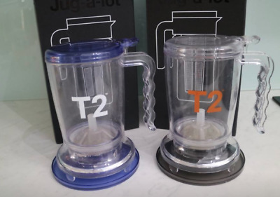 T2 TEA 2 NINA INFUSER COFFEE/TEA MAKER with coaster (CLEAR ONLY)