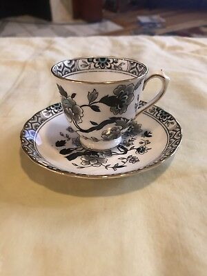 TUSCAN FINE ENGLISH BONE CHINA Demitasse CUP and SAUCER Vintage