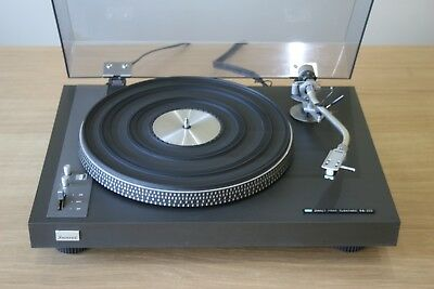 Sansui SR-525 Direct Drive Turntable + Shure M75ED Type 2 Cartridge, Ship W/Wide