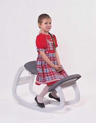Knee chair «Smart Wood», natural wood, exclusive design, for correct posture