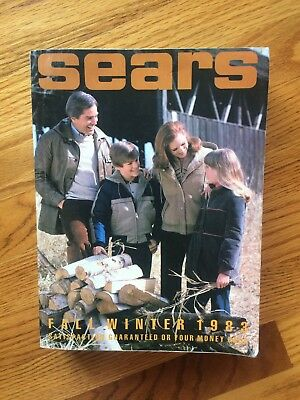 Vtg Sears Catalog Fall/Winter 1983 Midwest/East Edition 267G Collectible