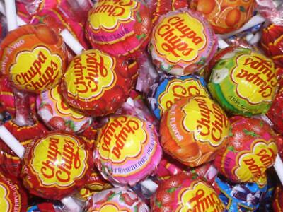 300 x Chupa Chups Lollies Assorted Flavour Lollipops Cola Apple Strawberry