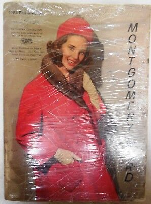 Montgomery Ward Vintage Fashion Catalog Lot, 1963 Spring Summer, 1963 Fall Winte