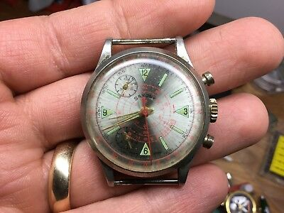 Vintage Saxony Swiss Wrist Watch LOOK! READ
